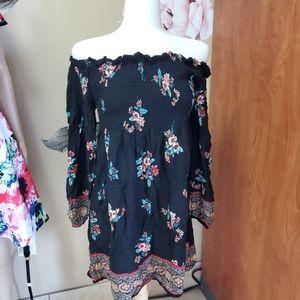 New Xhilaration Off The Shoulder Dress
